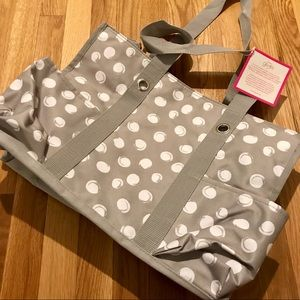 thirty-one Bags - Thirty-One Zip Top Organizing Utility Tote